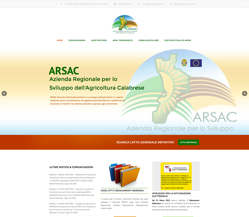 ARSAC Calabria
