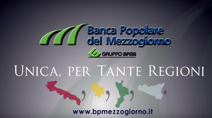 Spot TV Banca Popolare del Mezzogiorno